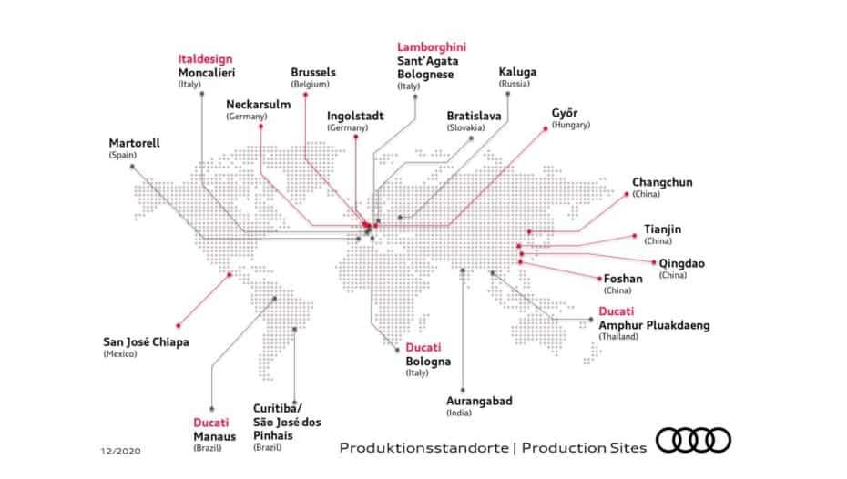 ¿Sabes dónde fabrica Audi sus modelos?: Todas sus fábricas