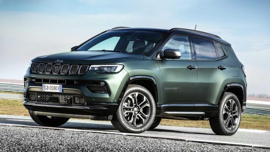 Primeras imágenes del renovado Jeep Compass para Europa