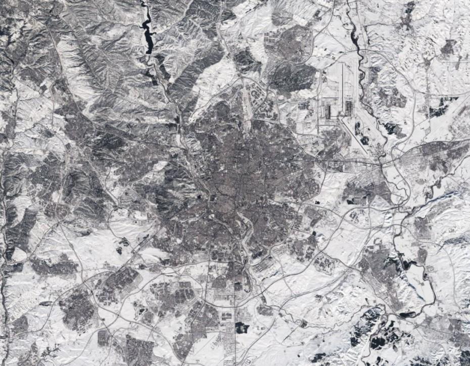 Así luce Madrid tras la histórica nevada que nos dejó Filomena