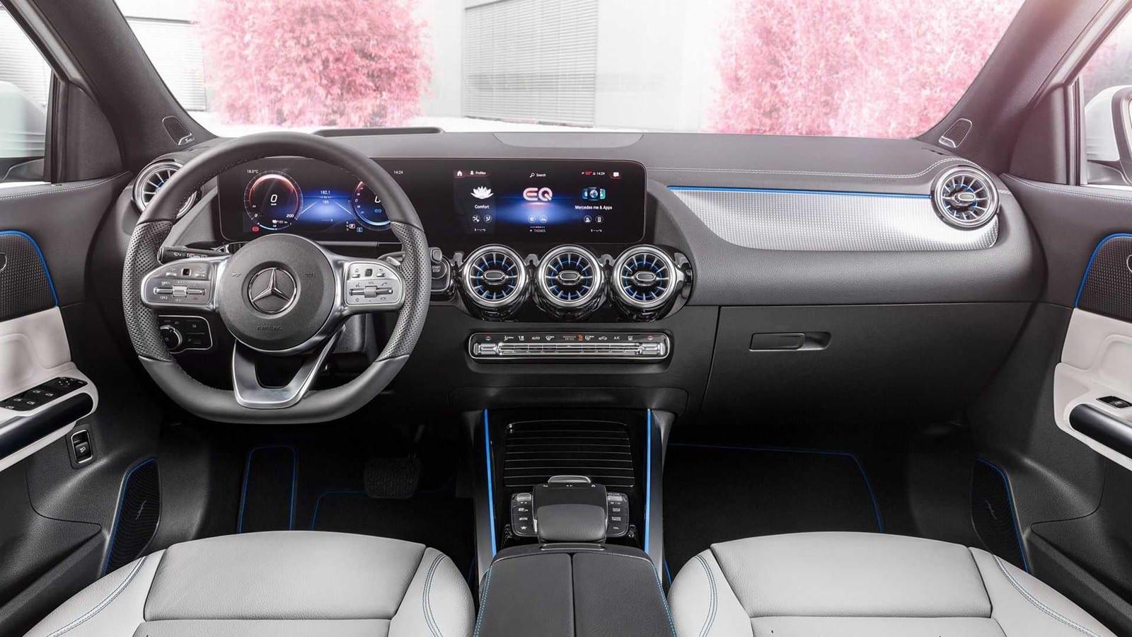 Equipamiento Mercedes-Benz EQA 300 y 350