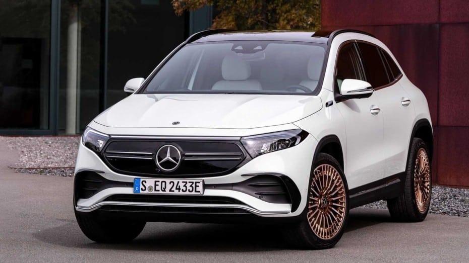 Llegan a nuestro mercado los Mercedes-Benz EQA 300 y 350: tracción total y hasta 292 CV