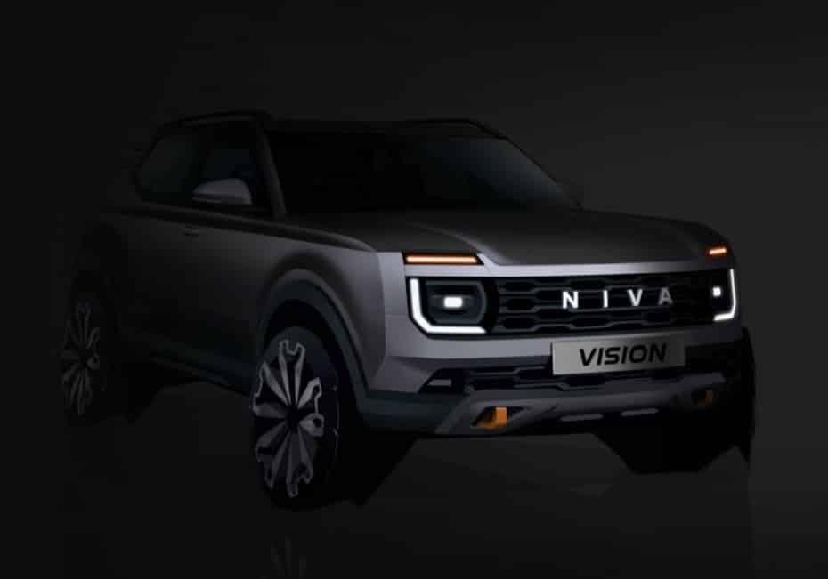 Así es el futuro Lada Niva: primera imagen oficial del modelo que llegará en 2024