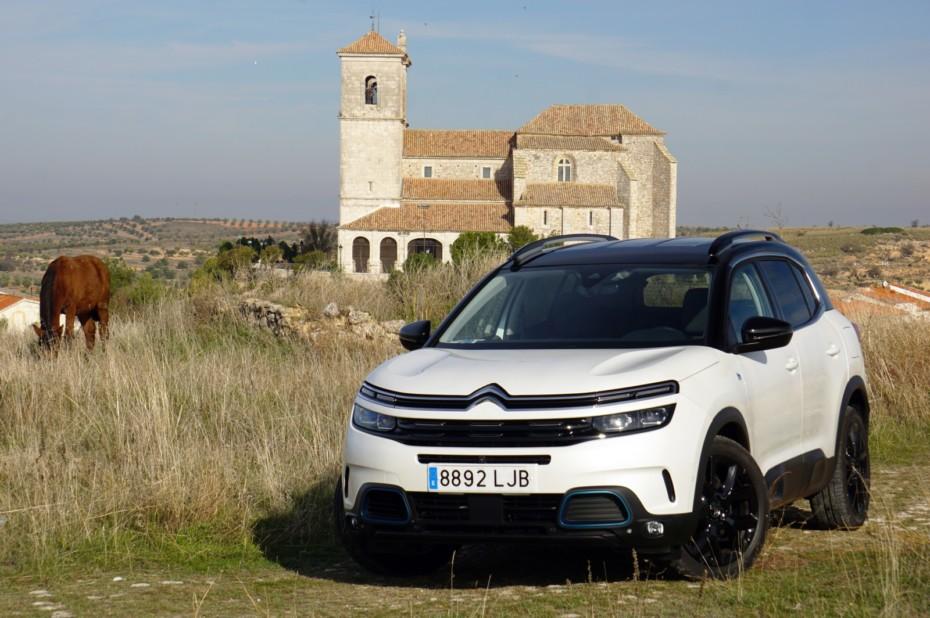 Prueba Citroën C5 Aircross 1.6 Hybrid 225 CV Shine: Etiqueta CERO y muy correcto