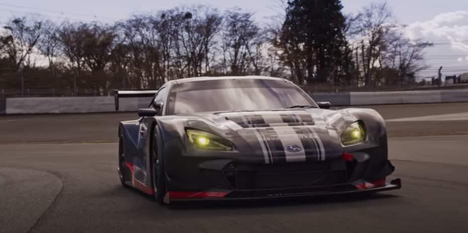 El Subaru BRZ GT300 se deja ver en un vídeo espectacular: esto es lo que sabemos