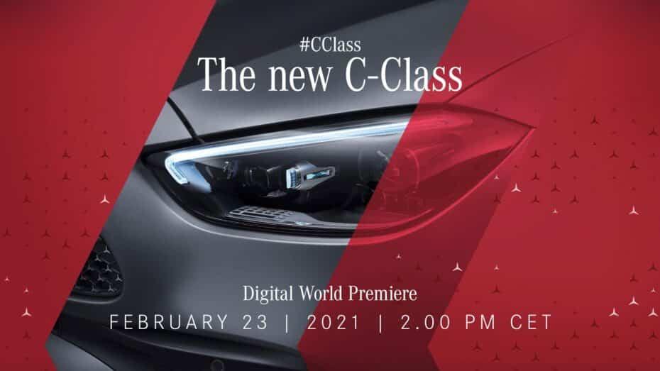 El nuevo Mercedes-Benz Clase C ya tiene fecha y podrás ver su debut online aquí