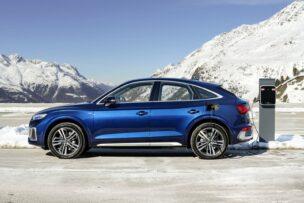 Más autonomía para los Audi Q5, A6 y A7 Sportback TFSIe híbridos enchufables