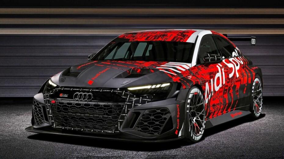 Audi RS 3 LMS: una evolución notable que debutará este 2021
