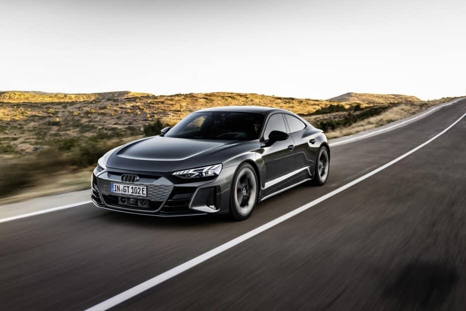 Audi e-tron GT y RS e-tron GT: ¿Qué te parece el Taycan de los cuatro aros?