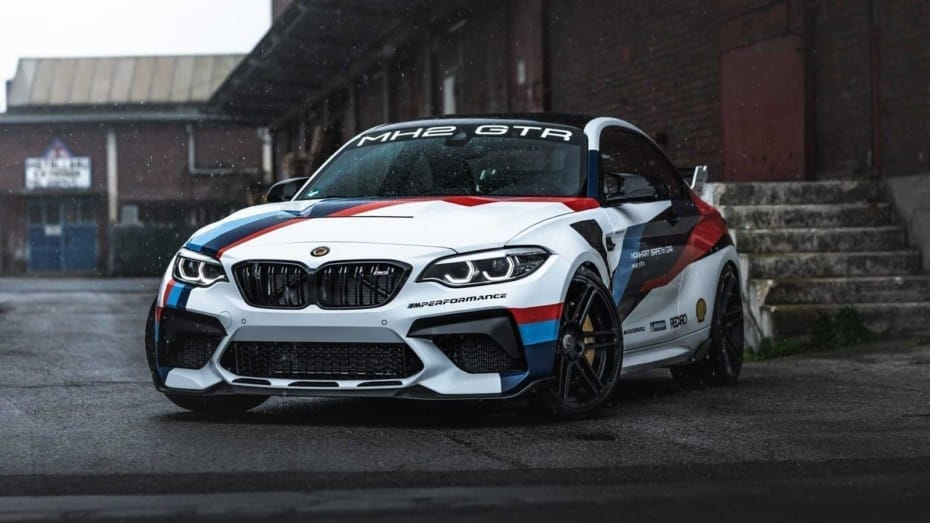 Si tienes un BMW M2 CS, no encontrarás mejor sitio para invertir 18.900 euros que en Manhart