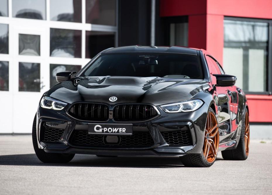 No te conformes con un BMW M8 Gran Coupé de 625 CV si puedes tenerlo con 200 CV más