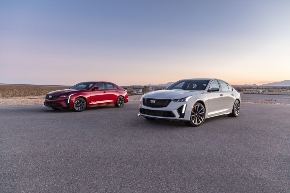 ¡Por fin! Así son los poderosos Cadillac CT4-V Blackwing y CT5-V Blackwing 2021