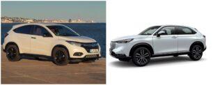 Comparación visual Honda HR-V 2021: ¿Terminan de convencerte los cambios?