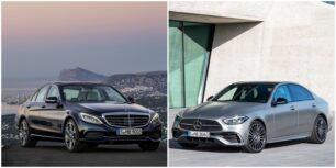 Comparación visual Mercedes-Benz Clase C 2021