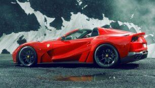 El Ferrari 812 GTS N-Largo es la última fiera de Novitec y supera los 850 CV
