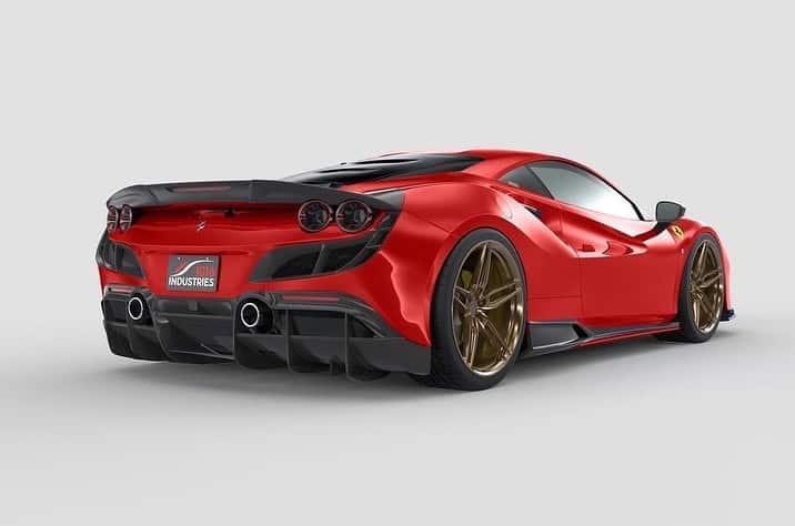 Este kit de carrocería para el F8 Tributo impreso en 3D te costará casi lo mismo que un Golf GTI