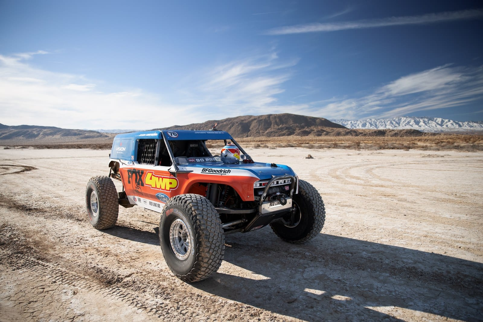 This is the Bronco 4400, a beast inspired by the Bronco R Race Prototype