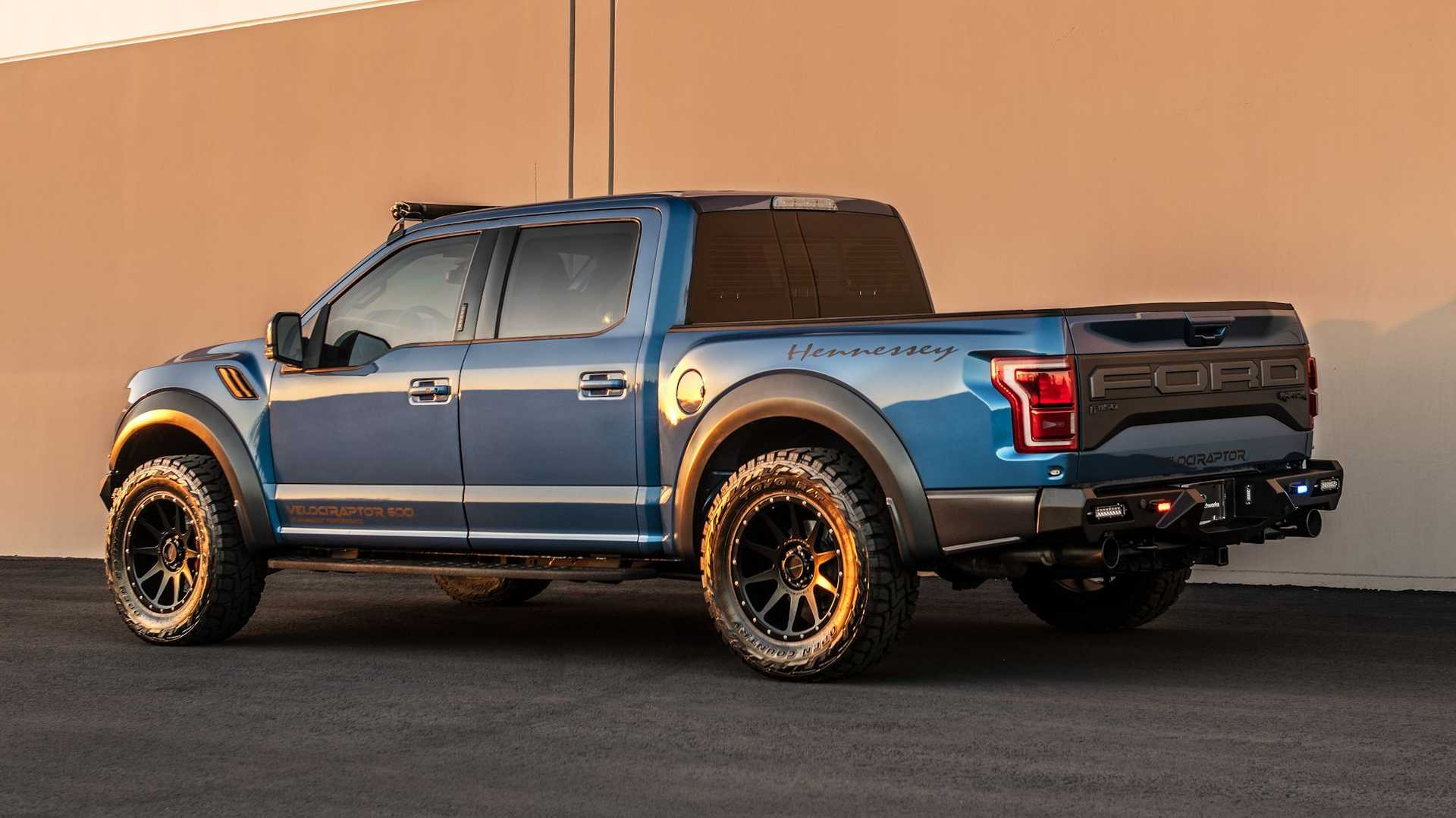 This 600hp armored Hennessey VelociRaptor V8 is the ultimate insane