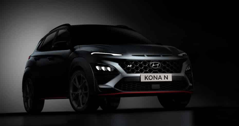 Hyundai nos anticipa el aspecto del KONA N: 280 CV y un cuerpo muy trabajado
