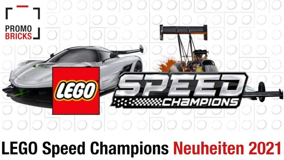 ¿Qué novedades traerá este año el catálogo de LEGO Speed Champions? Aquí tienes un adelanto