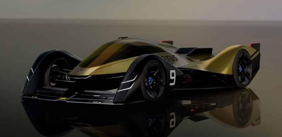 Lotus E-R9: un estudio de diseño que puede llegar a ser realidad en 2030
