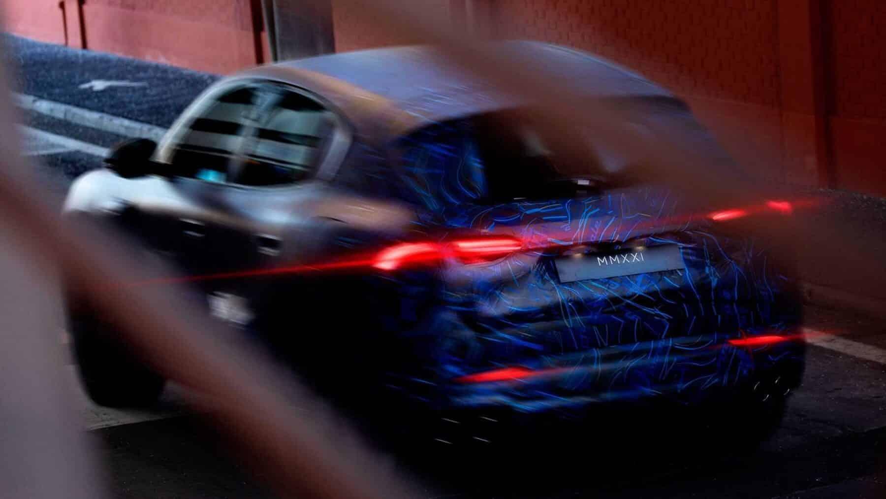 Zaga del Maserati Grecale