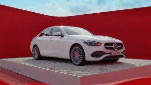 ¡Filtrado! Si estás interesado en el Mercedes-Benz Clase C 2021, aquí lo tienes en fotos y vídeo