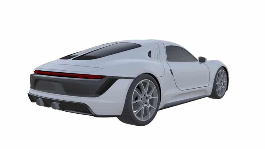 ¿Qué demonios tiene Porsche entre manos?: alas de gaviota en una patente…