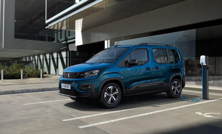 Así es el Peugeot e-Rifter: hasta 280 km de autonomía con 5 o 7 plazas