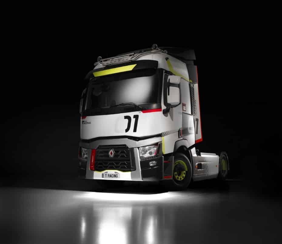 ¿Qué te parece el Renault Trucks T 01 Racing?: Ya en España