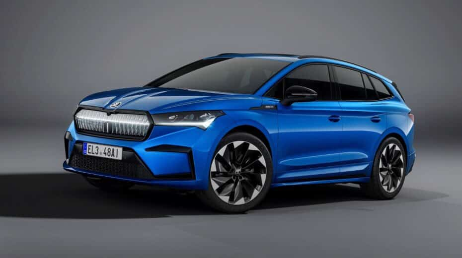 Así luce el Škoda ENYAQ SPORTLINE iV: ligeros toques deportivos