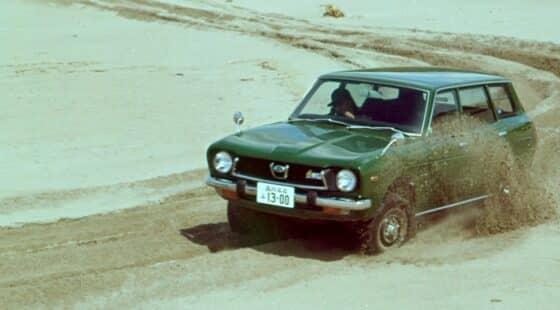 Subaru Leone -1800 4WD-: the beginnings of Symmetrical AWD