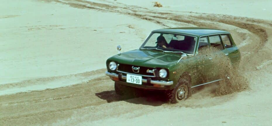 Subaru Leone -1800 4WD-: los inicios de la Symmetrical AWD