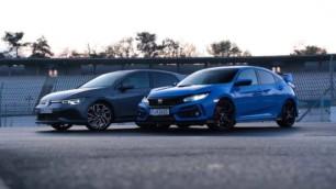 [Vídeo] VW Golf GTI Clubsport vs. Honda Civic Type R: ¿Por cuál apuestas sobre la pista?