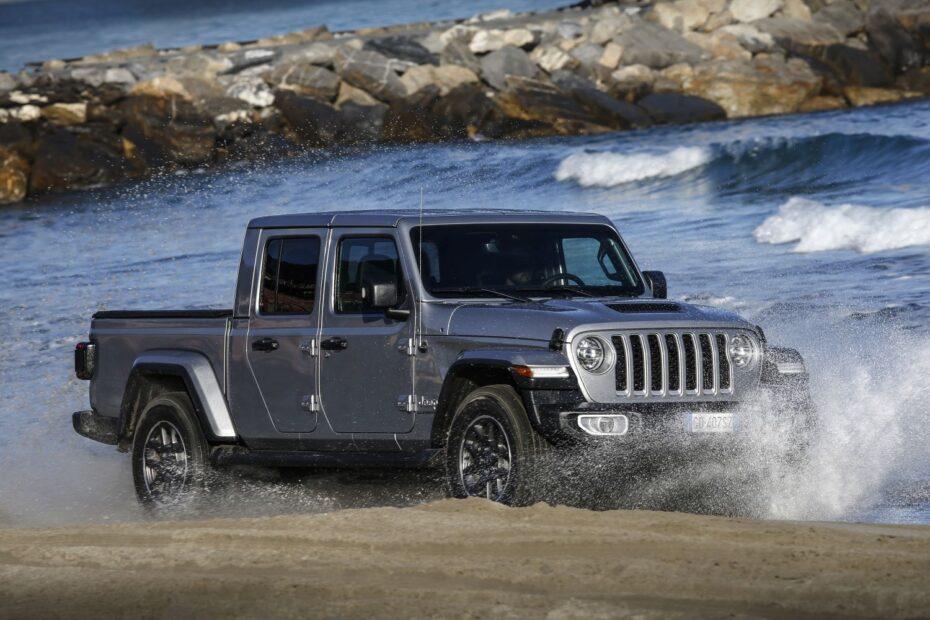 Nuevas imágenes del Jeep Gladiator para Europa