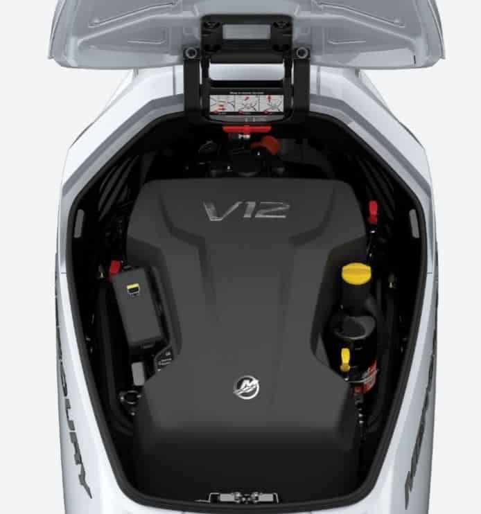 Este motor V12 de 600 CV es lo último y más exótico que puedes montar en tu yate