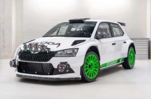 Tan solo habrá 12 unidades de este ŠKODA Fabia Rally2 evo de 287 CV