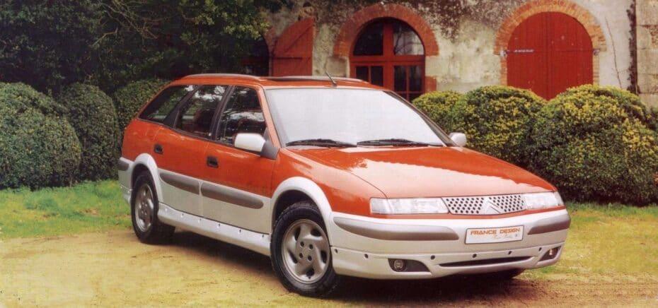 Citroën Xantia Break Buffalo 4×4: un «bicho raro» que te habría encantado ver hecho realidad