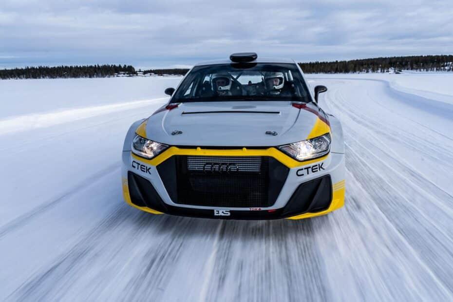 Audi A1 quattro Rally2 1.6 263 CV: el «juguetito»