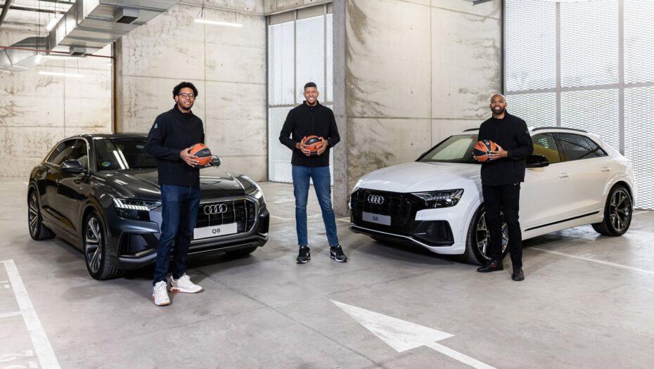 El Real Madrid de baloncesto recibe sus Audi: Cuando el Q8 parece un utilitario…