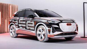 Audi nos adelanta cómo será el nuevo Q4 e-tron: interesantes novedades en el interior