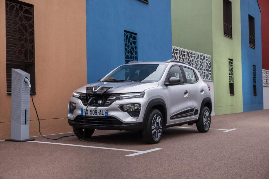 Nuevas imágenes del Dacia Spring, el eléctrico asequible