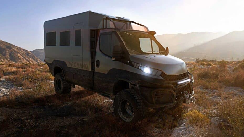 Este Iveco Daily 4×4 para aventureros está inspirado en el Dakar y en la Fórmula 1