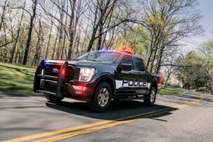 Ford F-150 Police Responder: patrullar con un motor EcoBoost® de 3.5 litros y 400 CV