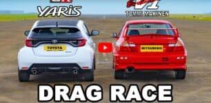 Toyota GR Yaris vs. MitsubishiEvolution VI Tommi Makinen Edition: mismo maestro