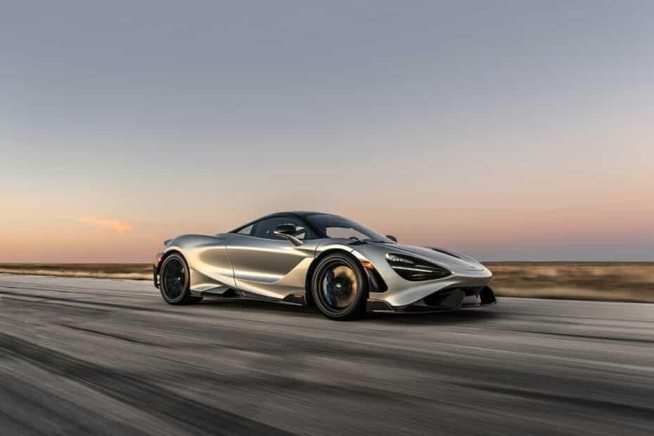 ¡Coged el babero! Más de 1.000 CV para el McLaren 765LT cortesía de Hennessey