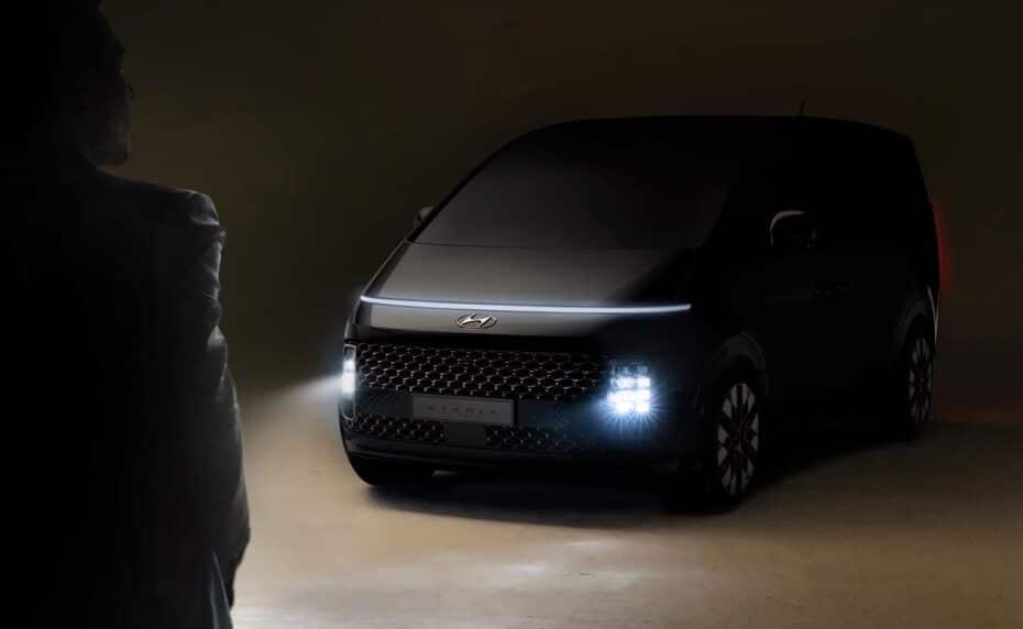 Hyundai STARIA, un anticipo del futurístico y atractivo MPV coreano