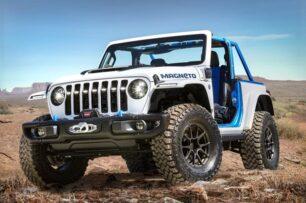 Jeep Wrangler Magneto concept: formato eléctrico y un cambio manual de 6 velocidades con embrague