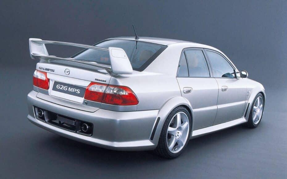 Mazda 626 MPS Concept: cuando quisieron igualar al Mitsubishi Lancer EVO