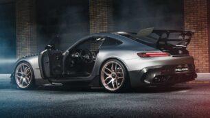 Mejoras estéticas y 60 CV extra para el salvaje Mercedes-AMG GT Black Series