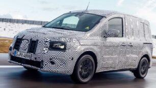 Primeras imágenes del Mercedes-Benz eCitan 2022: el Kangoo de la estrella eléctrico